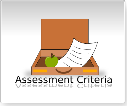 Click here to go to the assessment criteria